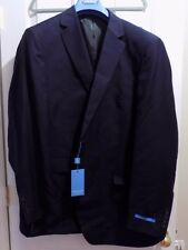 Presidential Giorgio Napoli 2 Button Mens Suit Modern Classic Fit Navy (48 Long