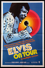 ELVIS ON TOUR ELVIS PRESLEY CONCERT DOCUMENTARY MATTE FINISH 1972 1-SHEET