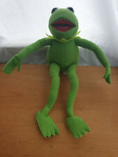 Kermit the frog From The Muppet show Posable Plush Junior Toys Made in 2000