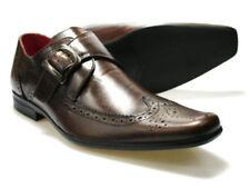 Zapatos ingleses/Brogues de vestir de hombre de piel