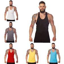 Men Gym Tank Tops Best Workout Clothing Sports Training Cotton Vests M L XL 2XL