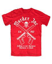 Murder Inc. T-Shirt ROT Mafia,Pate,Public,Enemy,Outlaw,Al Capone,Crime,Cocaine