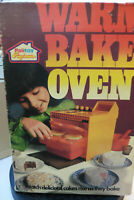 VINTAGE 1973 PALITOY KENNER WARM BAKE OVEN COMPLETE & UN-USED BOXED SEALED PACKS