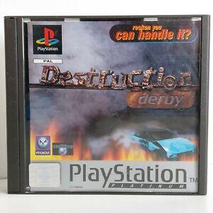DESTRUCTION DERBY - Platinum - Sony PS1 PlayStation 1