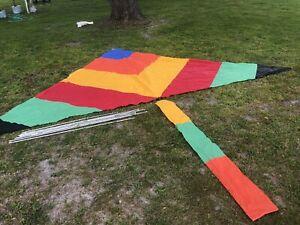 Giant vintage Delta Kite 1981 Tony Cyphert 14ft X 9ft +