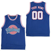 DIY Bugs Bunny #1 Space Jam Looney Tune Squad Basketball Jersey stitched Black