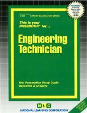 NEW Engineering Technician Test Practice Passbook Civil Service NYS Exam