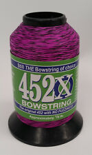 Black/Florescent Purple 452X 1/8 lb. Bow String Material