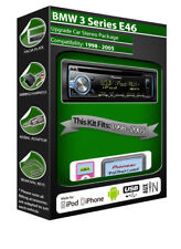 BMW Série 3 E46 Lecteur CD, Pioneer autoradio plays iPod iPhone Android