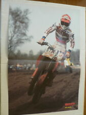 A499-DAVE STRIJBOS VENKO HONDA HOOGEVEEN MX MOTOCROSS POSTER NO H3 1984 ?