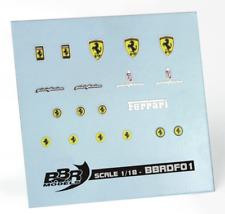 1:18 BBR Decal Ferrari Emblem Logo
