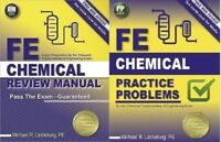 FE Chemical Review Manual AND FE Practice Problems 9781591264453 9781591264460