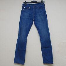 Mens Levis 504 Regular Straight Fit The Captain Jeans In Denim W30 L34