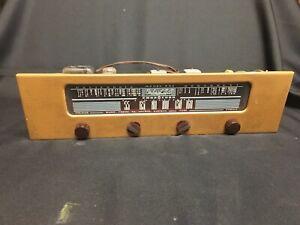 "Packard Bell Model 861 Phonocord ""Stationized"" California Tube Radio, Works 1958"