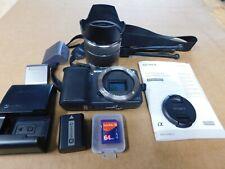 SONY  NEX-3 14.2MP MIRRORLESS Digital Camera 18-55mm LENS, EXTRAS NICE