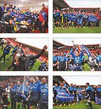 Bournemouth Fc Championship Winners 2014 2015 6 Card Postcard Set