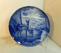 1976 Berlin Design Mother's Day Plate Genuine Blue China Limited Edition Germany