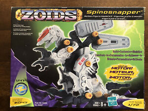 BRAND NEW zoids spinosnapper action figure model kit scale 1/72