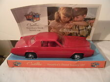 1967 PROCESSED PLASTIC CADILLAC FLEETWOOD ELDORADO PROMO MODEL NEAR MINT IN BOX