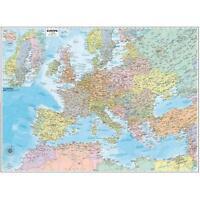 Carta GEOGRAFICA MURALE EUROPA, DIM.132x99cm. DA BELLETTI EDITORE