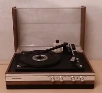 alter Plattenspieler Schallplattenspieler Turntable Hanseatic mit Funktion?