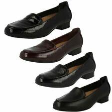 Calzado de mujer mocasines negros, talla 41