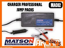 MATSON MAC02 - CHARGER PROFESSIONAL JUMP PACKS - BATTERY CHARGER