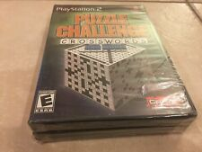 Puzzle Challenge: Crosswords and More (Sony PlayStation 2, 2006) PS2 NEW