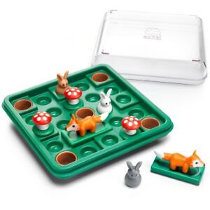 Smartgames Jump In Logic Puzzle - Children's Rabbit and Fox Brainteaser Game