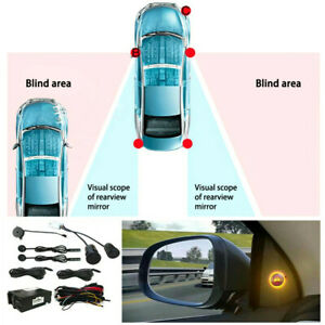 BSM Car Blind Spot Detection Rear View Monitor Ultrasonic Sensor Safety System