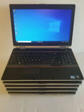 Lot Of 5 Dell latitude E6520 Core i5  4gb Ram 160G Hard  windowns 10 pro