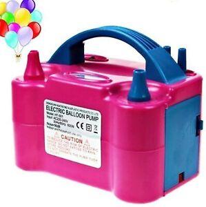 Gonfleur électrique pour ballons latex Pompe à air Pompe à Ballon Gonflable 600W