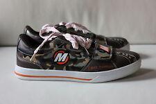 Mik-s señora zapatos schnürschuhe cortos camuflaje tamaño 38 nuevo!