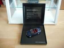 Minichamps Bentley Continental GTC in Blue on 1:43 in Box