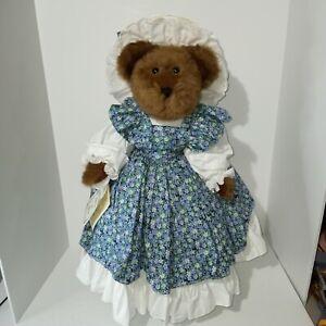 "VINTAGE TEDDY DRESSED DOLL 21"" ARTIST LINDA RICK ONCE UPON A BEAR SASSY 1 OF 500"