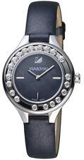 Swarovski Lovely 20 Crystals Mini Watch Black Leather Watch 5242898