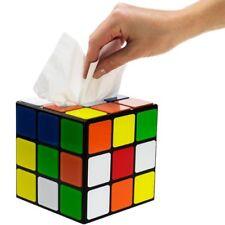 Tissue Box Cover Square Geek Decor Tissue Box Decorative Rubik's Cube