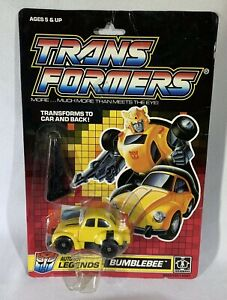 1989 Hasbro G1 Transformers Autobot Legend original vintage Bumblebee CARDED NEW