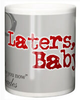"Dirty Fingers Mug ""Laters Baby, Mr Grey Will See You now"" Book Film Fan Gift"