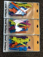 barrette hair clip colorful 3 Packs Of 26 Each