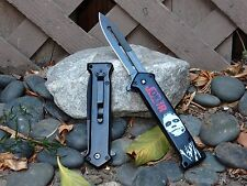 Black Red Joker Why So Serious Batman Dark Knight Spring Assisted Pocket Knife