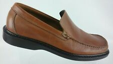 Bass Men's Tan Moc Toe Size 9.5 M Leather Loafer Shoes  R6S3