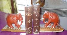 SERRE - LIVRES SECRET - ELEPHANTS - BOIS - art du monde