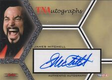JAMES MITCHELL 2008 Tristar Impact! TNA AUTOGRAPH AUTO CARD FATHER SINISTER
