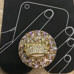 Bling Phone Grip With Swarovski Rhinestones Sparkly Gorgeous Must Have