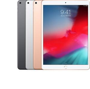 "Apple iPad Air 3 3rd Gen 10.5"" 64GB 256GB Gray Silver WiFi or Cellular Unlocked"