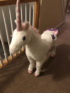 Unicorn Plush Kids Toys Lifesize Stuffed Animal Large Giant Melissa and Doug