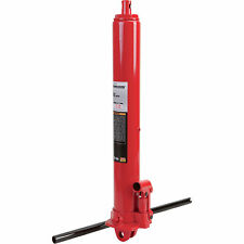 Strongway Hydraulic Long Ram Jack - 3-Ton Capacity, Single Piston, Clevis Base