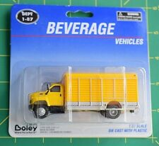 "Boley GMC 6500 Beverage Truck Yellow ""NEW"" Item #3025-88 HO Scale Die-cast"