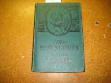 Boy Scouts on the Trail, George Durston, grn/blue cover         bf060